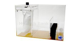 <p>The Euro-Fil 1™ Reef Filter provides the Berlin Method, or no-bio-media, style  design intended for reef tanks that utilize the tanks live rock as the main source of biological filtration. Its open sump includes a removable 100 micron sock for small particle