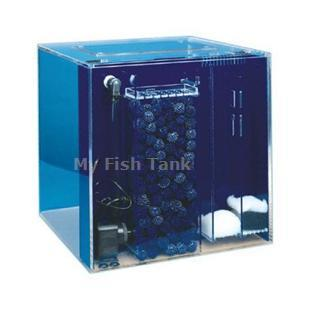 <p>25UC Cube UniQuarium with built-in 3-in-1 filter includes water pump, clear lid and lifetime warranty.</p>