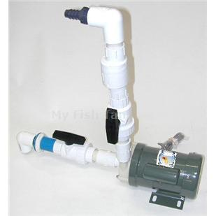 <p>Iwaki water pump filter assembly contains all the items needed to complete a filter system, except the filter ( select filter seperately ).</p>