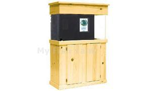 "<p>Pine Cabinet Stands are 30"" tall. Solid pine face, doors and molding with birch veneer top and sides. Radiused edges, Overlay doors with self-closing hinges. Tank insets into midband skirt 1-1/2"". Stained and sealed finish. Sizes listed are based on footprint