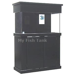 "<p>Contructed of MEDIUM DENSITY FIBERBOARD, Flat Black finish only. MDF Cabinet Stands are 30"" tall. Radiused edges, Overlay doors with self-closing hinges. Tank insets into midband skirt 1-1/2"". Stained and sealed finish. Sizes listed are based on footprint
