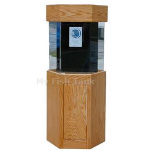 "<p>LS Oak Cabinet Stand is 30"" tall. Premium Oak veneer with radiused edges. Inset doors with hidden hinges and spring loaded magnetic latches. Tank insets into stand 1-1/2"". Stained and sealed finish. Sizes listed are based on footprint of aquarium. Available