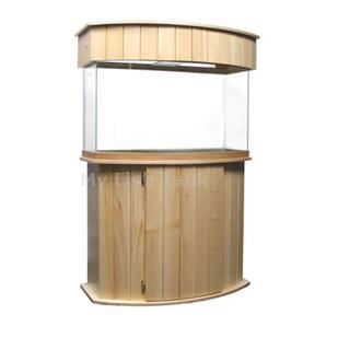 <p>Classic design with curved front panel. Built with slatted wood panels. Doors are overlay with self-closing hinges. Available in unfinished, natural, light, medium, dark, whitewashed and black ( see choices in drop down menu )</p>