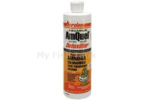 <p>Amquel protects aquarium and pond fishes and invertebrates by quickly eliminating in a true, single step action, three of the most toxic chemicals commonly found in water ammonia, chloramines and chlorine. Amquel does not interfere with the biological cycle