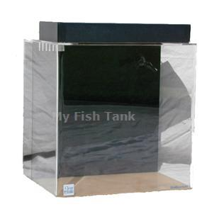 <p>45 gallon Rectangular Seahorse tank with built-in filter system, includes light hood, fixture and a Coralife 50/50 bulb and 125 watt heater. Modified specifically for seahorses. Lifetime warranty.</p>