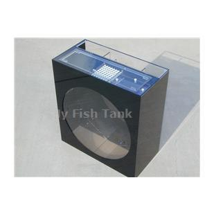 "<p>The 24"" Mini-Jelliquarium TANK-ONLY is our most compact and least expensive operational jellyfish display system. This Jelliquarium design has a Wet-Dry Trickle filter, and an optional venturi protien skimmer, integrated into its backside for compact and