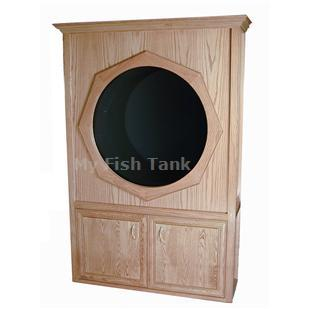 "<p>Our 48"" Traditional Oak series Jelliquarium Cabinet System is the newest in a line of freestanding home or office jellyfish display systems.</p>