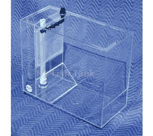 "<p>Inexpensive rearing tank for the exploration of jellyfish, juvenile fish, seahorses and pipefish. Built from 1/4"" thick rugged cast acrylic. Tank is 24"" Long X 11"" Wide X 20"" Tall. One inch wide top frame for structural support.</p>