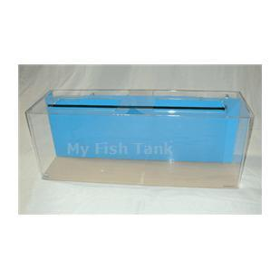 <p>125 gallon Rectangular Seahorse tank with built-in filter system, includes light hood, fixture and a Coralife 50/50 bulb and 125 watt heater. Modified specifically for seahorses. Lifetime warranty.</p>