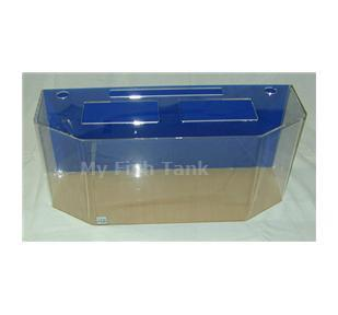 <p>Model 26FBH clear acrylic aquarium includes light hood, fluorescent light fixture and lifetime warranty.</p>
