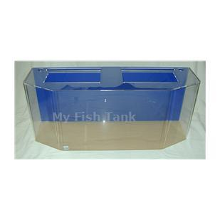 <p>Model 100FBH clear acrylic aquarium includes light hood, fluorescent light fixture and lifetime warranty.</p>