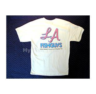<p>LA Fishguys T-Shirts, Haines BEEFY-T 100% PreShrunk Cotton.</p>