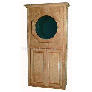 "<p>The 32"" Traditional Maple series Jelliquarium Cabinet System is the newest in a line of freestanding home or office jellyfish display systems.</p>