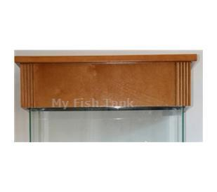 "<p>Laguna Pine Canopy is solid pine trim and molding with pine veneer top and sides. Fluted Columns. Canopy lid opens fully, hinges at rear and has slightly rounded edges and lip. Canopy overhangs tank 1-1/2"". Fits both glass and acrylic tanks.</p>