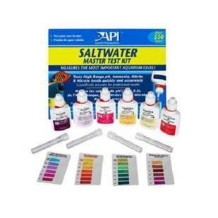 Monitor the health of your saltwater aquarium with this Master Test Kit. Simple tests with easy to read directions, this is the best way to keep track of your water chemistry, and water chemistry is the first step in fish health. Test includes High Range