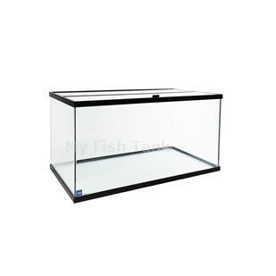 <p>110&nbsp;Gallon glass tank with plastic frame measures 48-1/2x18-1/2x31-1/2. GLASS TANKS ARE NOT SHIPPABLE, you will pick them up at our Los Angeles CA 90061 location.
