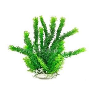 "Cabomba-Like 12"" Aquarium Plant PD-BH03 w/ Weighted Base"